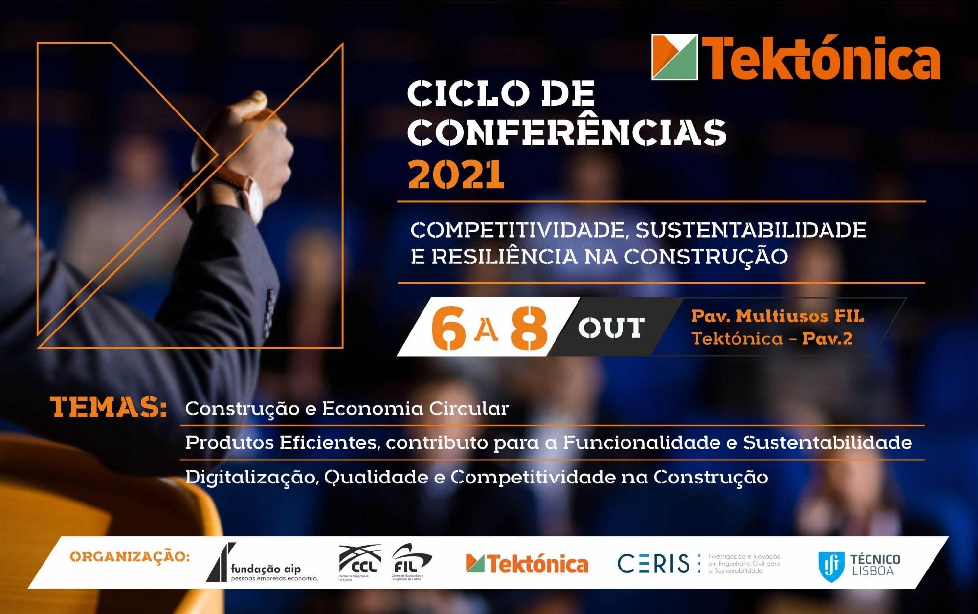 Ciclo de Conferências | Tektónica 2021