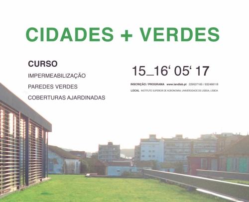 Curso de Impermeabilização, paredes verdes e coberturas ajardinadas