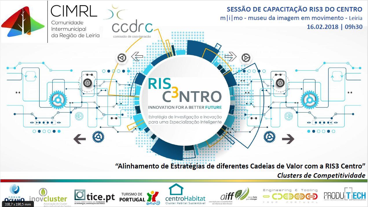 Sessão capacitação RIS3 Centro