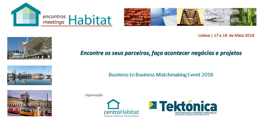 Encontros/Meetings Habitat 2018