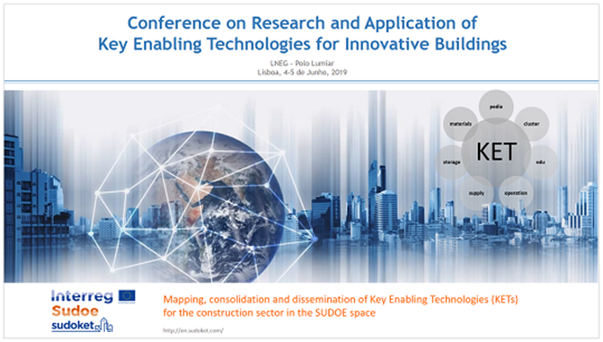 Conference on Research and Application of Key Enabling Technologies for Innovative Buildings